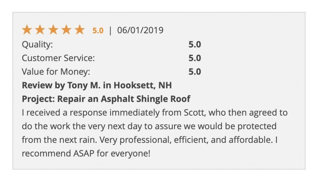 """Professional, efficient, and affordable"" 