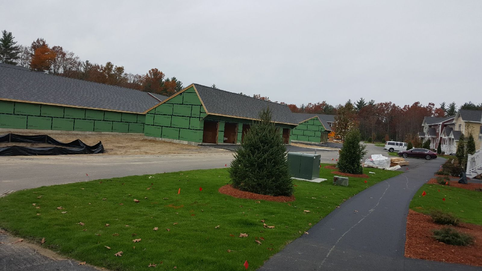 Commercial Roofing install in Litchfield NH by ASAP Roofing NH
