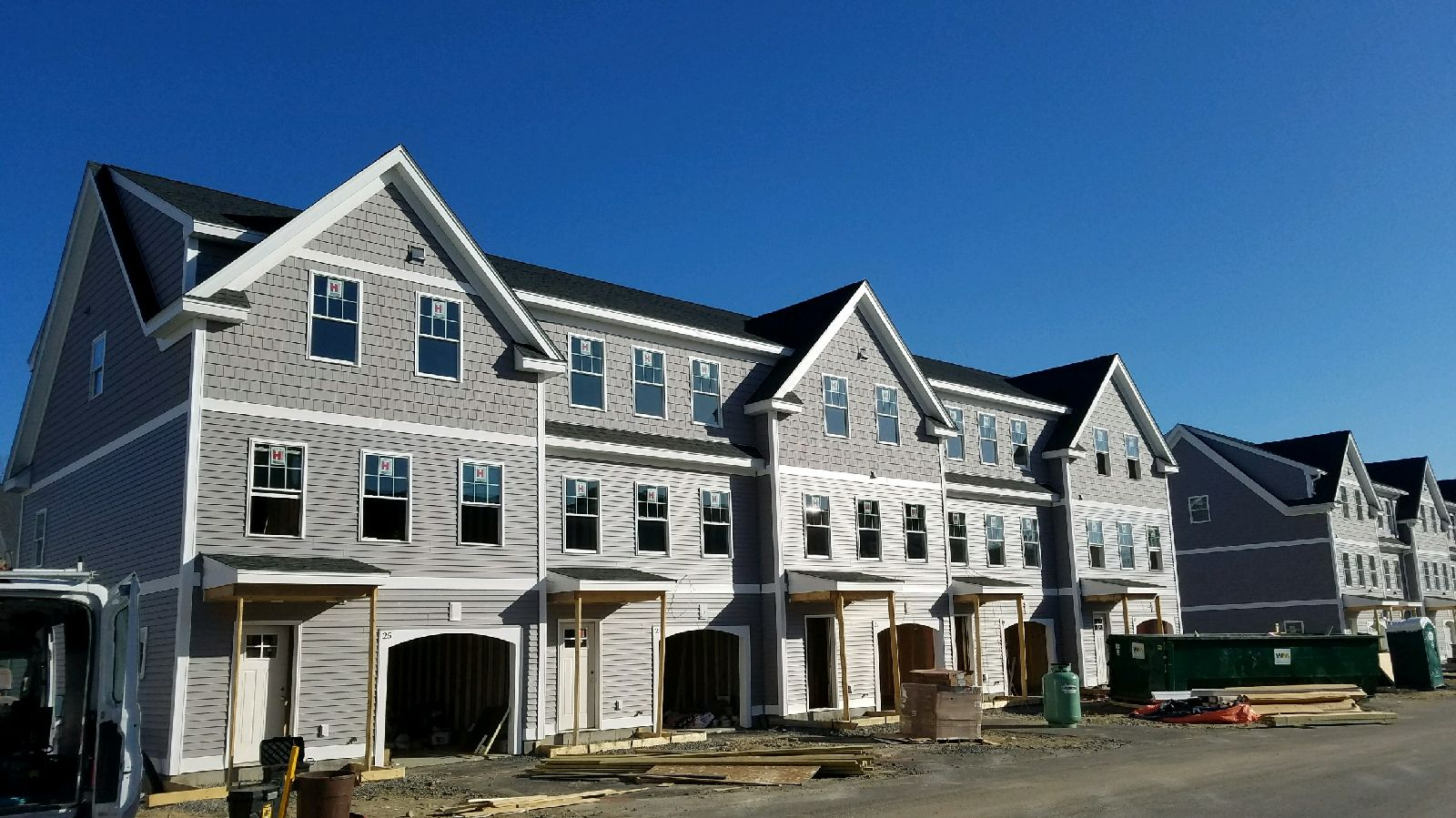 Commercial Roofing Condos in Dover NH by ASAP Roofing NH