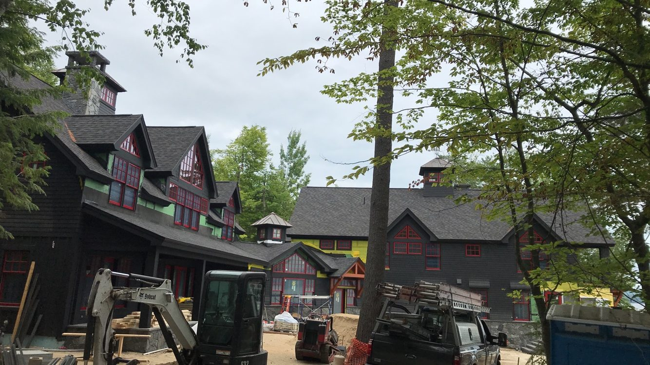 New construction roof install in Wolfeboro NH | ASAP Roofing NH