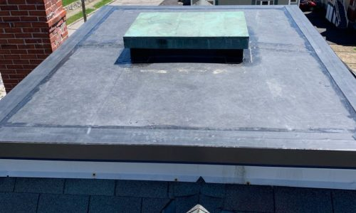 Commercial Rubber Roof Install in Manchester NH | ASAP Roofing NH