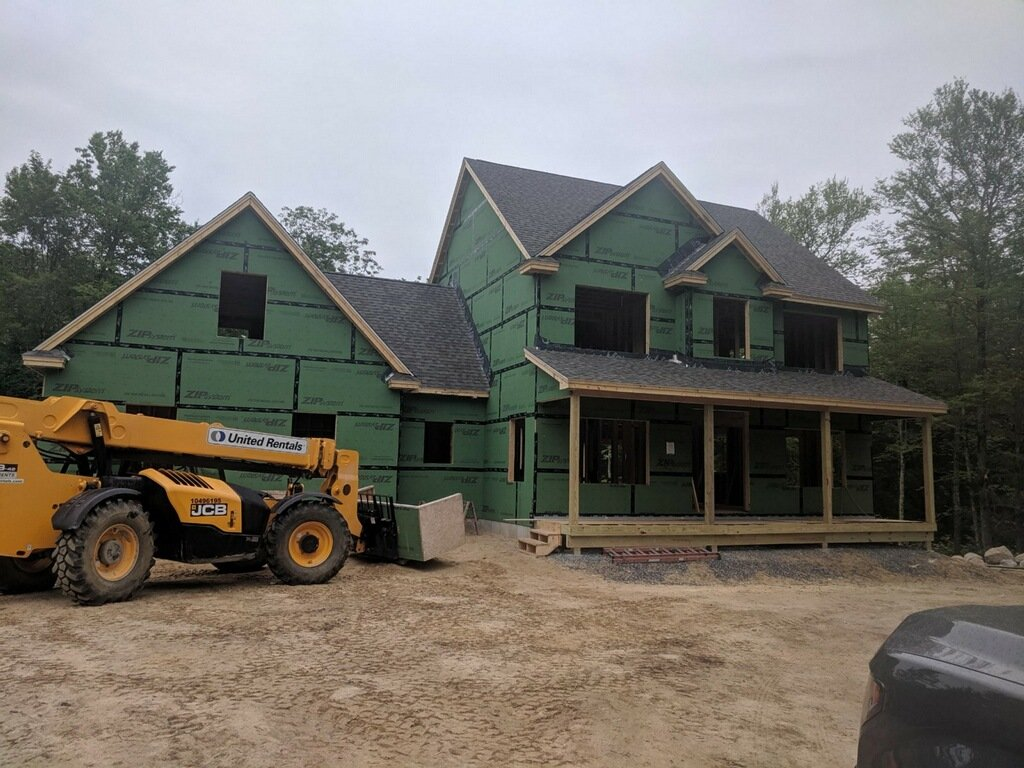 Residential Roofing in Brookline NH by ASAP Roofing NH new construction