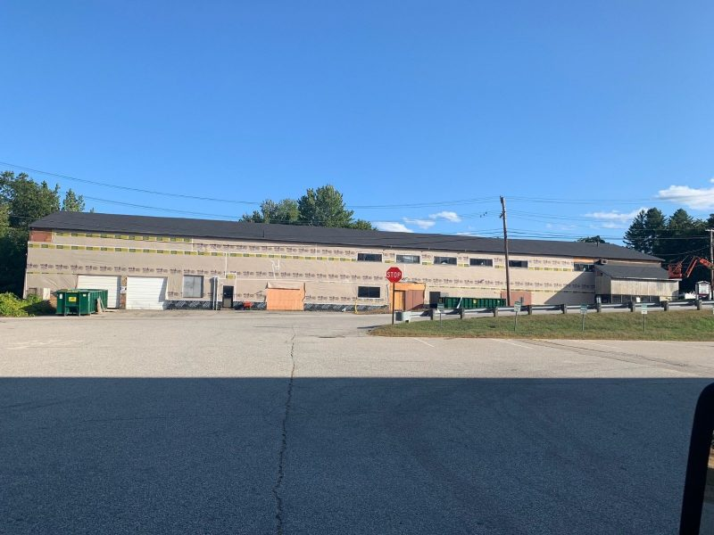 Commercial Roofing at Taylor Rental in Concord NH