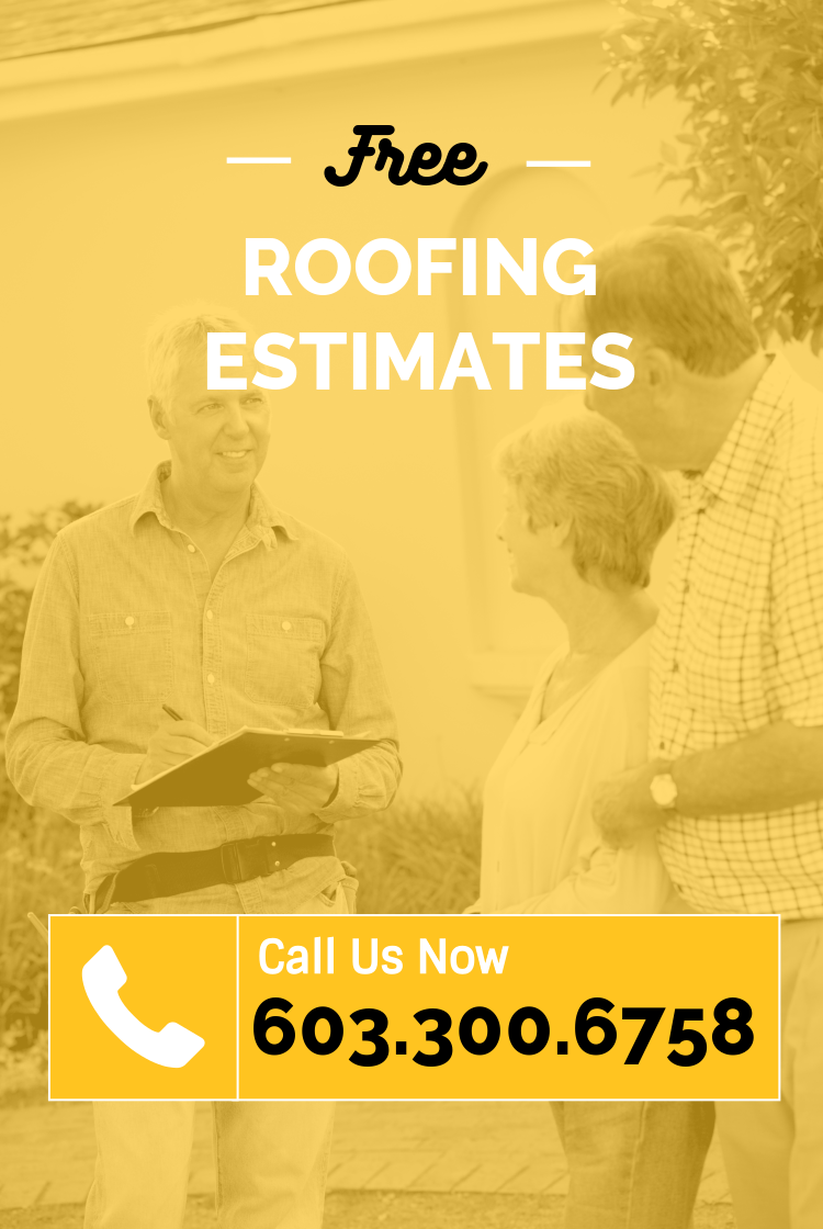 Free Estimates by ASAP Roofing NH new construction