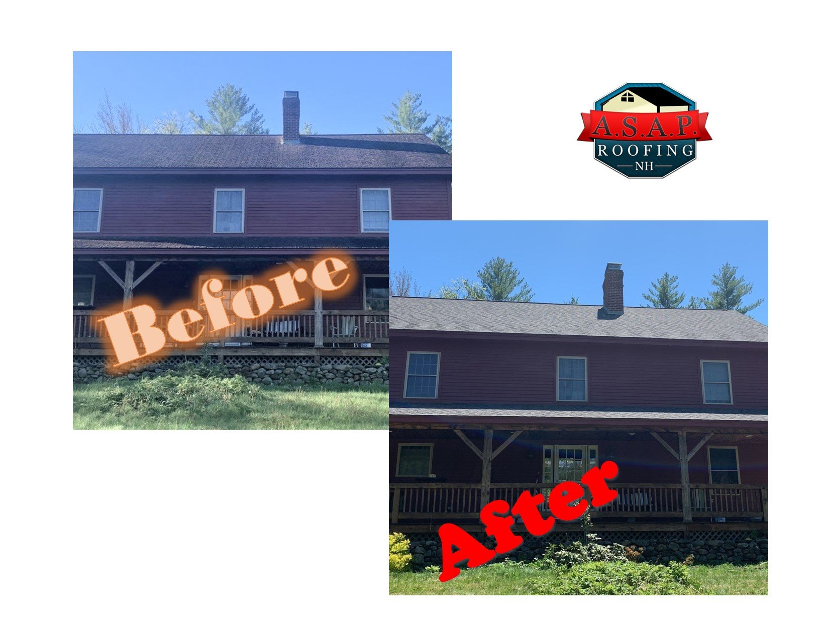 Residential Roofing, Fales Ln, New Boston, NH