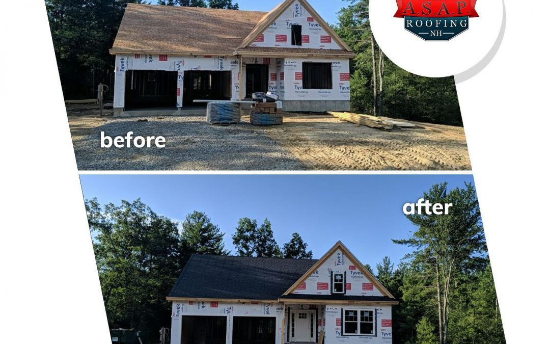 Residential Roofing, New Construction in Litchfield NH
