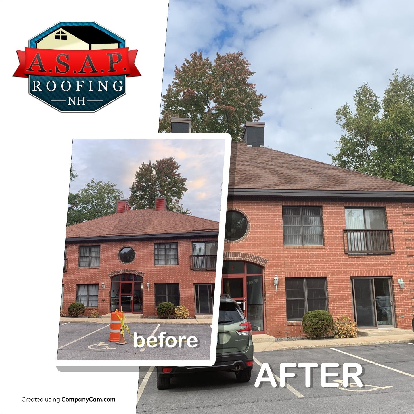 Commercial Roofing Salem NH ASAP Roofing