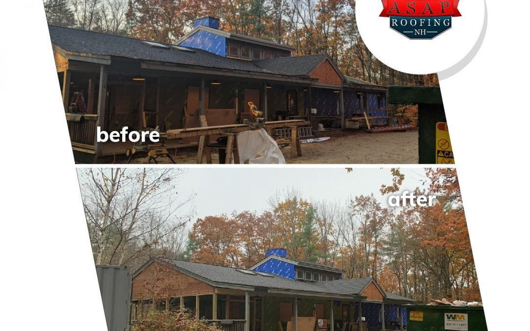 Commercial Roofing at Loon Mountain in Lincoln NH