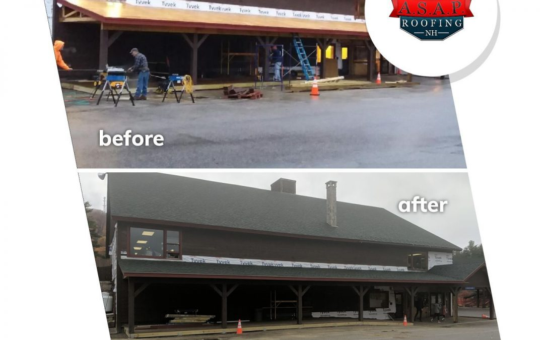 Commercial Roofing at Gunstock in Gilford, NH