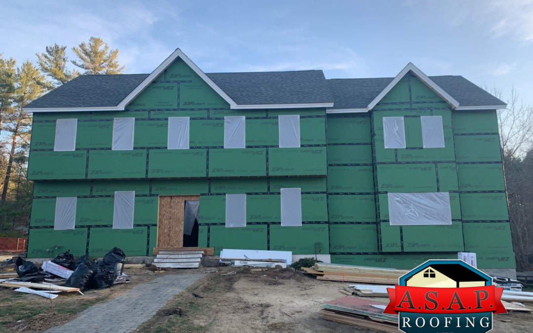 Residential Roofing, New Construction