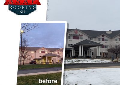 """Amazing"" Commercial Roofing at Best Western in Manchester NH"